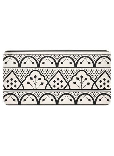 The Mia Maroc Dikdörtgen Servis - 32 x 17 cm Beyaz